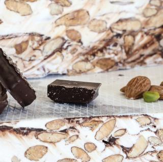NOUGATS LAURMAR - Nougat au chocolat noir - Nougat
