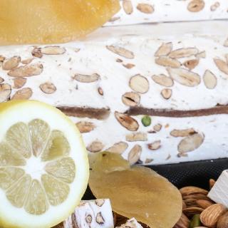 NOUGATS LAURMAR - Nougat écorces de citrons confites - Nougat
