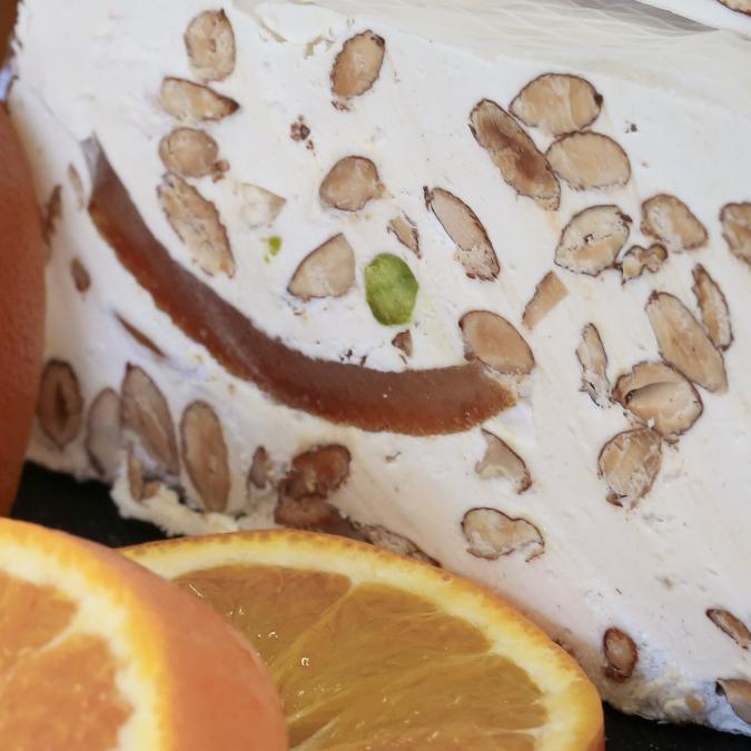 NOUGATS LAURMAR - Nougat écorces d'oranges confites - Nougat