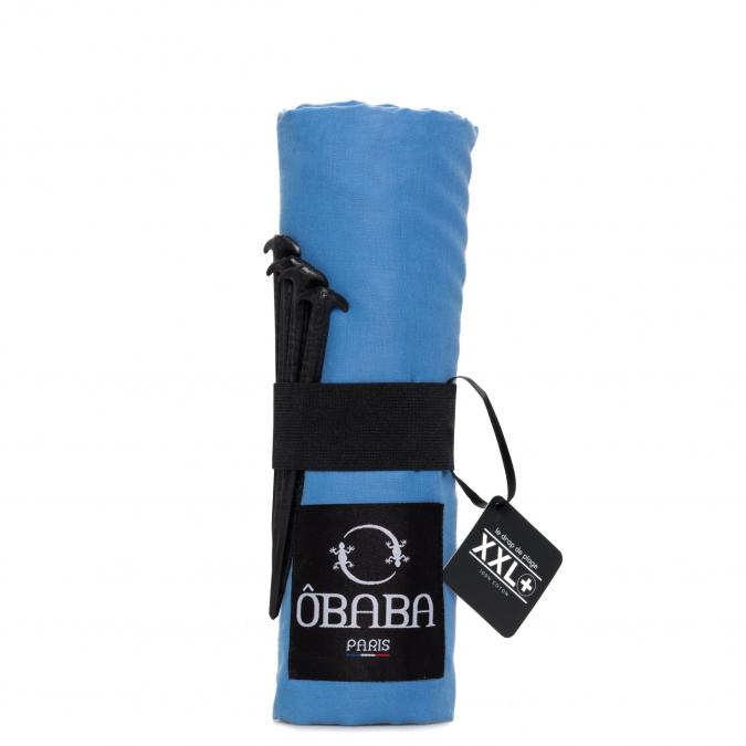 ÔBABA PARIS - ÔBABA XXL+ St barth (Bleu) - Serviette de bain - Bleu