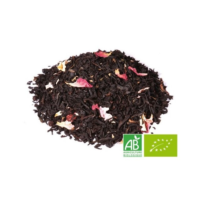 OMTEA - Balade en forêt - Thé noir aromatisé
