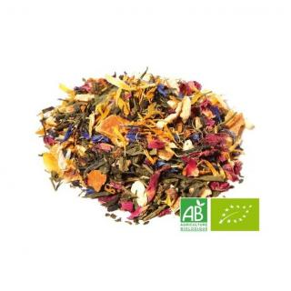 OMTEA - L'Orangeraie - Thé vert aromatisé