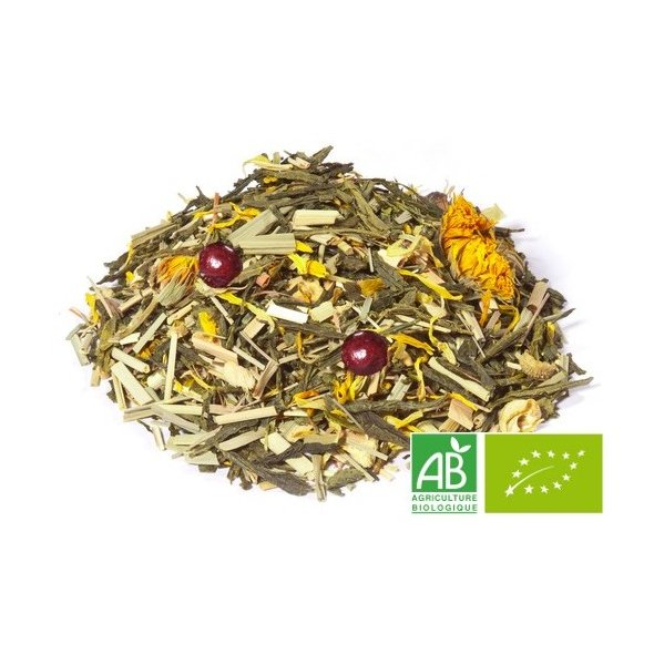 OMTEA - Pour Maman - Thé vert aromatisé