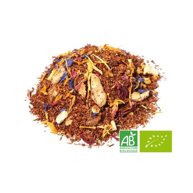 OMTEA - Rooibos Exotique - Infusion - Exotique, vanille