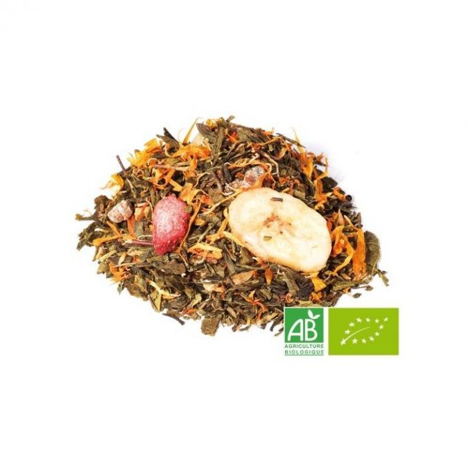 OMTEA - Soleil de Martinique - Thé vert aromatisé
