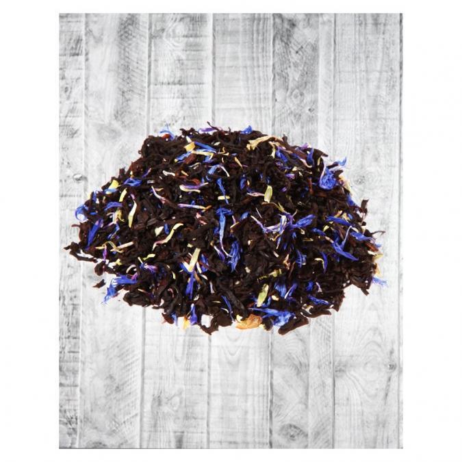 OMTEA - Thé Grand Earl Grey - Thé noir aromatisé