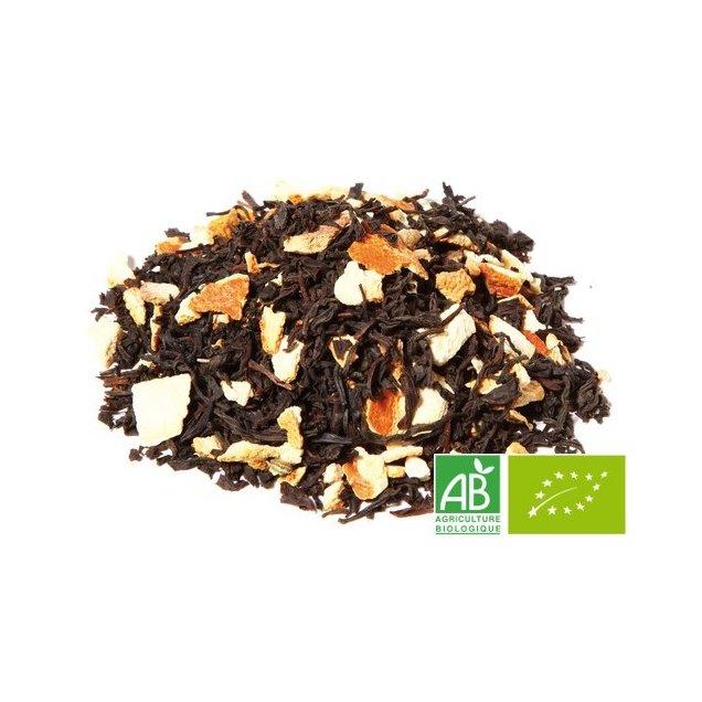 OMTEA - Thé Noir à l'Orange - Thé noir aromatisé