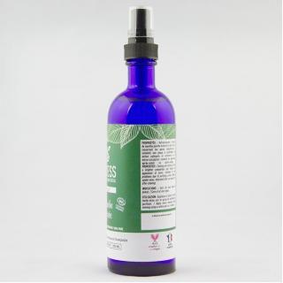 ONLYESS, le soin de peau 100% végétal - 100% pur hydrolat de Menthe poivrée BIO* - flacon verre 200 ml - Hydrolat