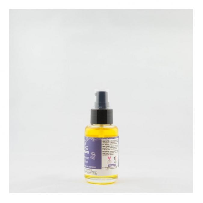 ONLYESS, le soin de peau 100% végétal - 100% pure huile vierge d'amandons de Prune BIO* - flacon verre 50 ml - Huile corporelle - 4668