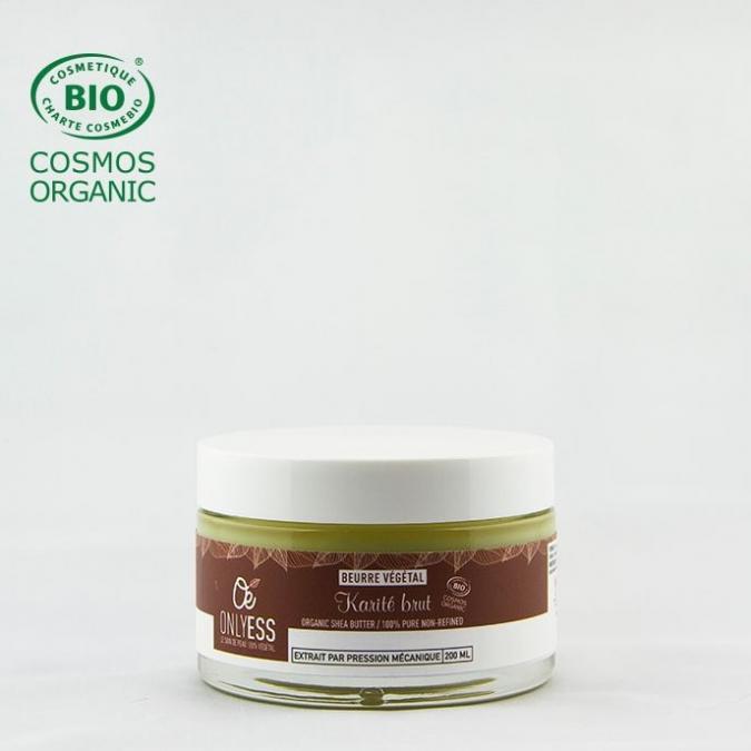 ONLYESS, le soin de peau 100% végétal - Beurre de Karité brut BIO* - Beurre de karité