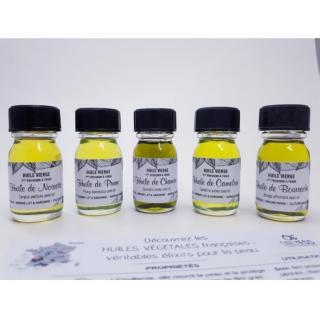 ONLYESS, le soin de peau 100% végétal - Coffret découverte 5 huiles végétales format 10 ml - Coffret (soin)