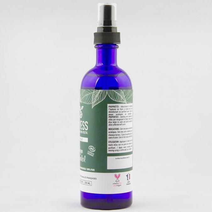 ONLYESS, le soin de peau 100% végétal - Hydrolat de Thym à linalol BIO* - Hydrolat