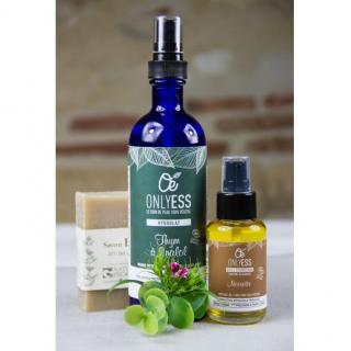 """ONLYESS, le soin de peau 100% végétal - Peaux mixtes - Routine """"3 gestes essentiels"""" - Coffret (soin)"""