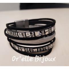 Or'elle Bijoux - Bracelet cuir - Bracelet - Cuir