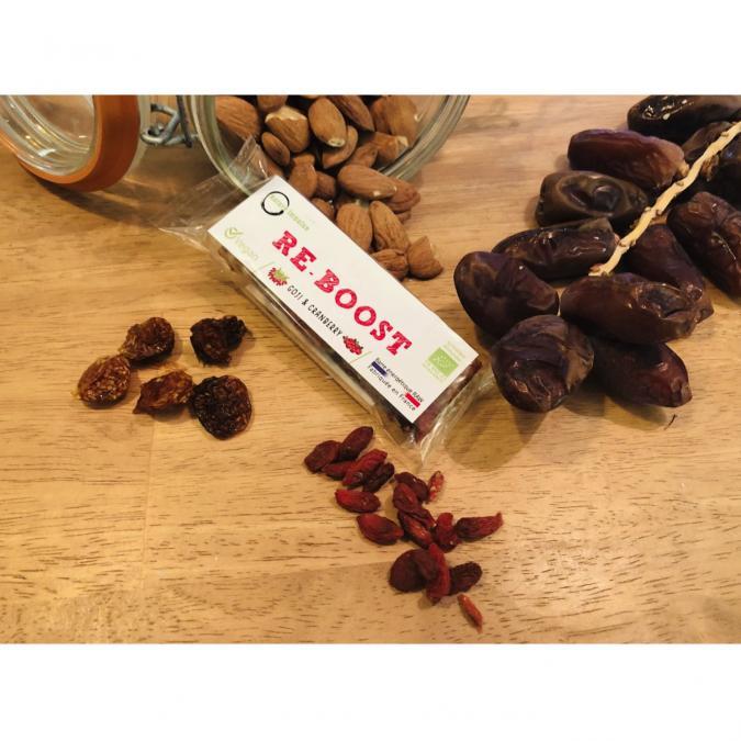 PADAJOO - Barre Goji-Cranberry - barre énergétique