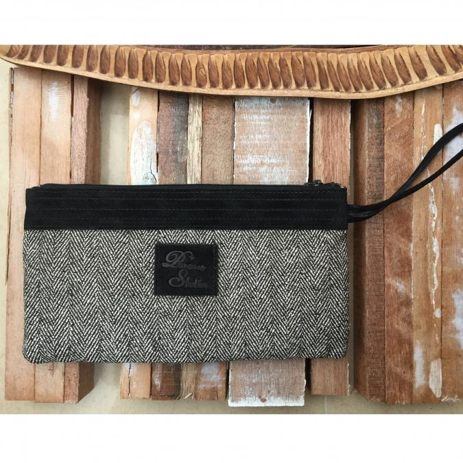 Paname Shelter - LOU- Pochette longue - Pochette (maroquinerie) - Noir