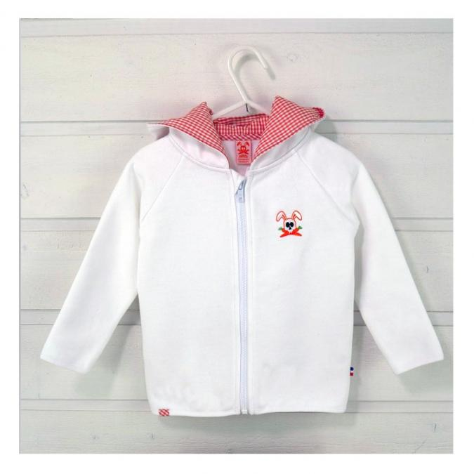 Papate - Sweat Rhoen - 3 ans - Sweat (enfant) - blanc