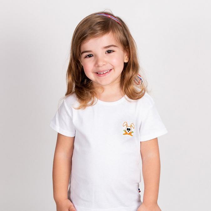 Papate - T-Shirt Hotot - 4 ans - Tee-shirt (enfant) - blanc