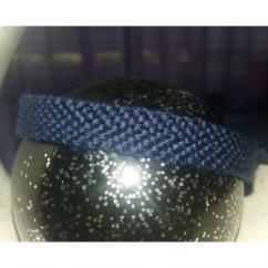 Passion-bracelet - Bracelet brésilien uni bleu nuit - Bracelet - Coton