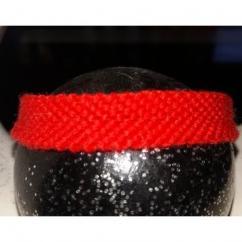 Passion-bracelet - Bracelet brésilien uni rouge - Bracelet - Coton