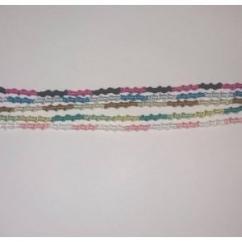 Passion-bracelet - Lot de 5 bracelets spirale différentes couleurs - Bracelet - Coton