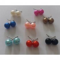 Passion-bracelet - Lot de 8 paires de boucles d'oreilles - Boucles d'oreille - Plastique