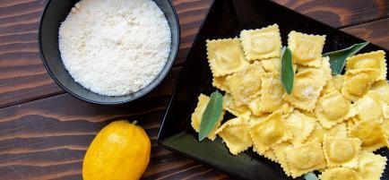 Pasta Piemonte - Les raviolis au Citron de Menton - Fabrication familiale de PATES FRAICHES BIO et Createur des Raviolis au Citron de Menton.