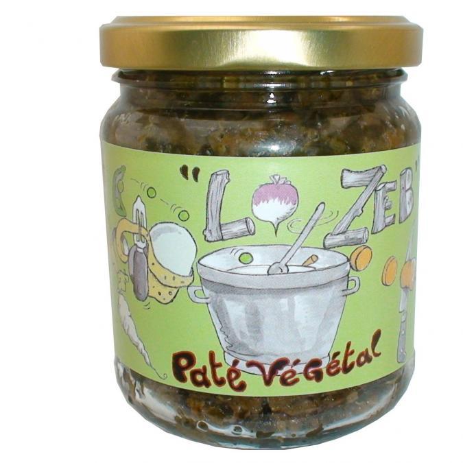 Pâtés végétaux LO ZEB - Pâté végétal à l'ail des ours - Pâté végétal
