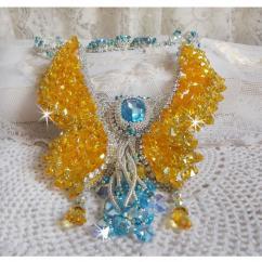 Patricia Wagner Créations - Collier Versailles avec des cristaux de Swarovski - Collier - Cristal