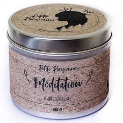 Petite Parisienne - MEDITATION - Bougie 180g - Bougie - Parfum léger et aquatique