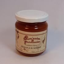 Prom'nades Gourmandes - Confiture abricot lavande - Confiture - 240gr