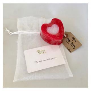Pure RoK Savon Natural - Heart Soap - Savon - 75g
