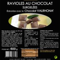 Les Ravioles de la Mère Maury - Ravioles surgelées au Chocolat VALRHONA - Ravioles - 600 gr