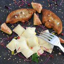 Les Ravioles de la Mère Maury - Ravioles surgelées au Foie de Canard - Ravioles - 600 gr