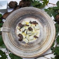 Les Ravioles de la Mère Maury - Ravioles surgelées Truffe d'Été 0,85% Truffe Brumale 0,62% et arôme Truffe - Ravioles - 600 gr