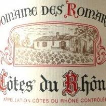 Domaine des Romarins - Côtes du Rhône traditionnel - 2018 - Bouteille - 0.75L