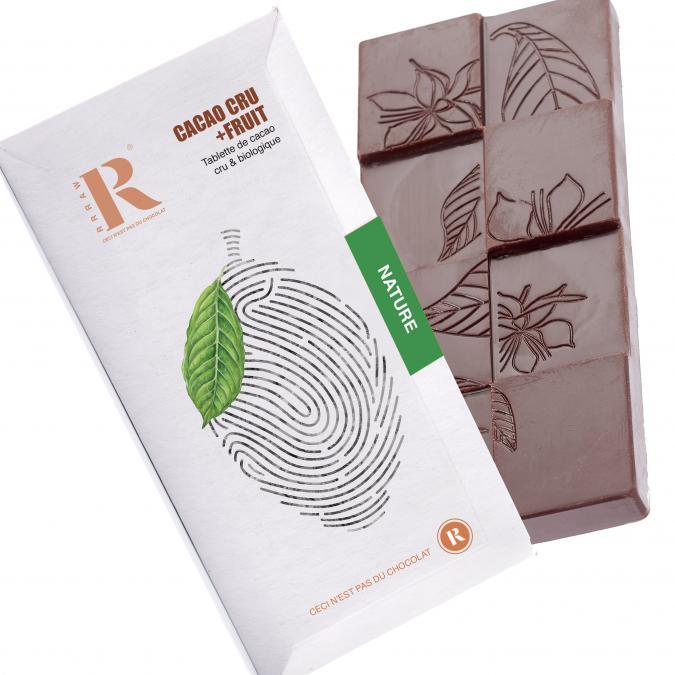 Rrraw Cacao Factory - Tablette 75% datte sans sucre ajouté - Chocolat