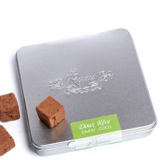 Rrraw Cacao Factory - Truffes Doux rêve cajou-coco (100g) - Chocolat