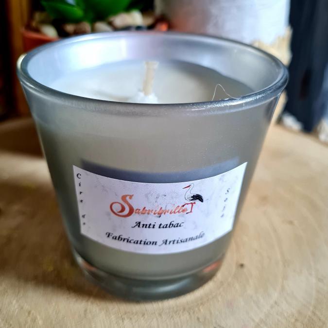 Sabribrille - 110grs - Bougie - Anti tabac Gourmand
