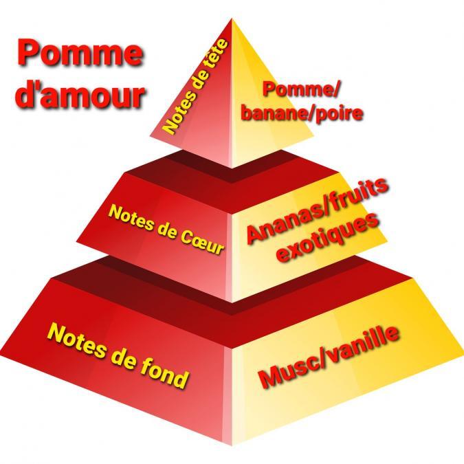 Sabribrille - 90grs - Bougie - Pomme d'amour