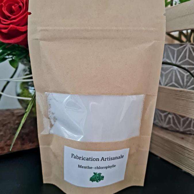 Sabribrille - Menthe Chlorophylle - poudre d'aspirateur