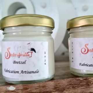 Sabribrille - Mini 35grs - Bougie - Pomme d'amour