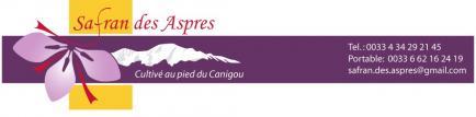 Safran des aspres - Dieval laurent - Safran AB qualité supérieure - culture naturelle - pistils/filaments entiers - récoltes millésimées