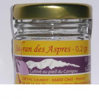 Safran des aspres - Dieval laurent - Safran AB millésimé - 0.2gr - ___Sel, poivre, épices - 0.2 gr