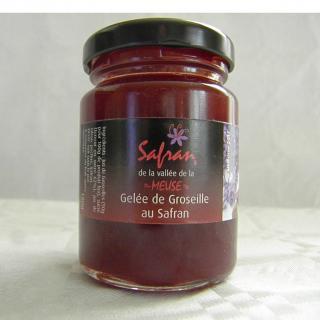 SAFRAN DE LA VALLEE DE LA MEUSE - Confitures et gelée safranées 120g - Confiture - 4668