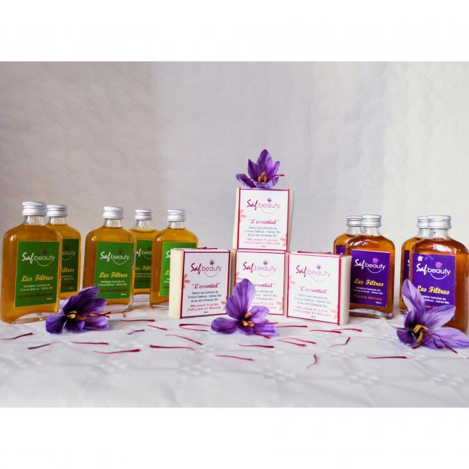 """SAFRAN DE LA VALLEE DE LA MEUSE - Le """"Filtre"""" fleurs Frâiches bio 50 ml - Cosmétiques"""