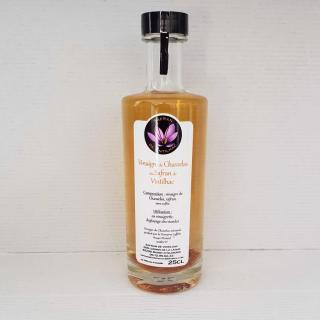 Safran de Vintilhac - Vinaigre de Raisin Chasselas de Moissac au safran 25 cl (copie) - vinaigre au safran