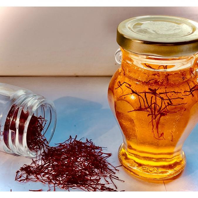 La safranière d'ORmes - Safran d'ORmes - miel au safran