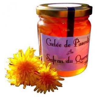 Safran d'Oc - Gelée de pissenlit au Safran 250 gr - Gelée
