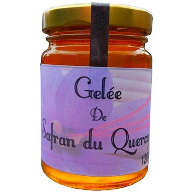 Safran d'Oc - Gelée de safran 120 gr - gelée de safran
